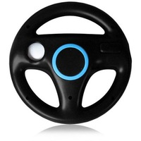 NEW Game Steering Wheel for Wii Remote Mario Kart Racing Game Black