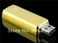5pcs/lot Real memory 2GB 4GB or 8GB 16GB 32GB HOT Golden metal USB Flash disk fastest shipping via EMS or DHL