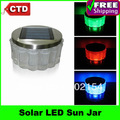 Free Shipping Retail High-quality With Factory Cheap Price Solar LED Sun Jar, Solar LED Light Jar