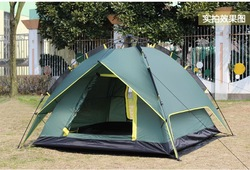 Free shiping High Quality Tent, Camping Pop up Tent,UV Automatic Beach Tent, For 3-4 Person within camping mat(China (Mainland))