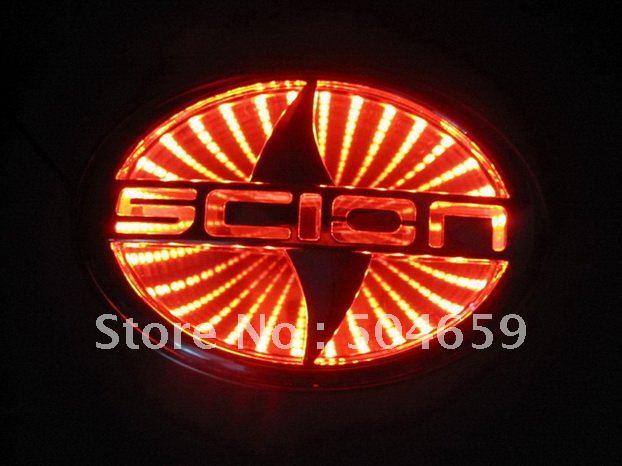 3D светодиодные света scion Эмблема автомобиля
