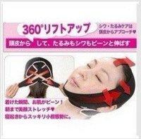 3D Face Slimming Shaping Cheek Uplift Sleeping Belt, shipping Slim Cheek Scalp Face Belt Anti Wrinkle Sagging 10PC/LOT