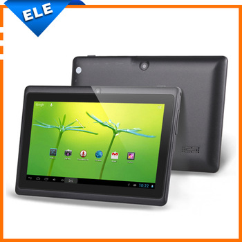 7 inch HDMI  tablet pc  Q88 Dual core ATM7021 512RAM 4GB ROM android 4.2 OTG WIFI capacitive screen 800*480 dual camera
