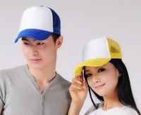 Wholesale 2014Cheap Men Spring Trucker Mesh Hats Two Tones Special Women Blank Caps Summer Ball Cap Snapbacks Sport Hat Headgear