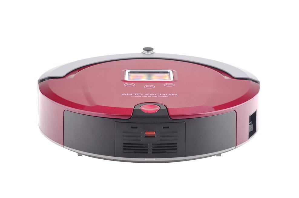 Only for Russian Rose Color Special Low Noise Intelligent Robot  Vacuum cleaner
