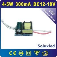 12v-18v led driver  GU10 E27 4-5W