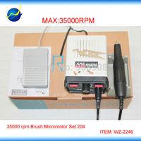 Korea 35K RPM SAESHIN STRONG 204 Micromotor 220V ( FDA, CE certificated )