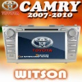 WITSON Factory Price!!!TOYOTA CAMRY Car DVD with GPS Navigation TV+Russia map+Russia Menu+Free Shipping!