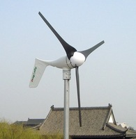 CE,Russia,RoHS approved Off-grid 1500W wind turbine generator set!