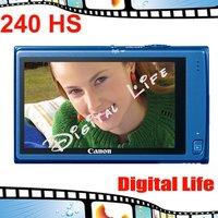 "Canon IXUS 240 HS Digital Camera 5x Optical Zoom, 10x Digital Zoom,16MP Sensor Resolution,3.2""Display Size"