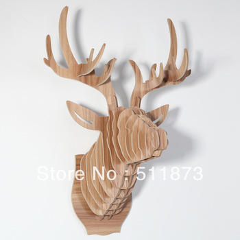 DHL Free shipping ! ChinaAsh Deer Head  Wall Decoration ,Moose Head  Wall decor