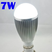 Hot Selling 630-770 High Lumen High Power 7W LED Bulb, Lamp Base can be E27, B22, GU10