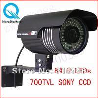 700TVL Effio-E 1/3''SONY CCD Color Video 84IR LEDs Outdoor CCTV Security Camera W69-7
