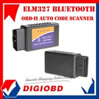 Hot sale OBD2 can-bus auto Diagnostic Interface Scanner Auto code reader V1.4 ELM327 Interface Bluetooth ELM 327 BT