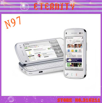 Free Shipping Unlocked Original 3G 5MP GPS WIFI 32GB internal memory N97 original brand mobile phone