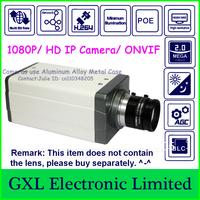 "GXL,2 Megapixel HD Digital CCTV Camera,Full HD 1080P,1/3"" COMS,Low-illumination,POE Network Bullet IP Camera C7QA1080PEL"