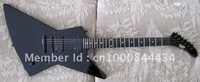 2012 new arrival + free shipping + wholesaler + ESP explorer custom electric guitar, James Hetfield's black ESPreplica guitar