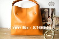 2014 new fashion handbag  world famous classical fashion NAPA genuine leather tote bag women handbag soft leather muliti color