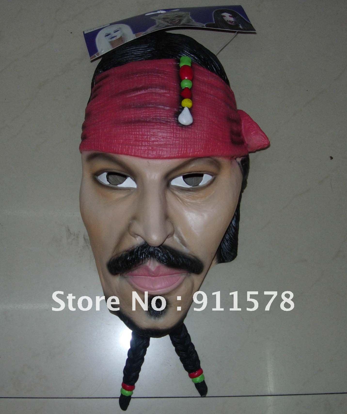 Sparrow Face Mask Jack Sparrow Face Mask