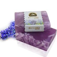 (5pcs/lot) Natural Handmade Lavender Soap Skin Moisturize 100g/pc Free shipping