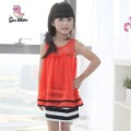 Holiday sale Free shipping!!!Han edition children cloth fashion Orange girl dress/chiffon underwear baby wear/wholesale