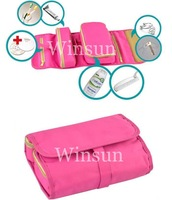 Fashion canvas washing bag organizer, Cosmetic bag, Hot selling toiletry bags,10pcs/lot