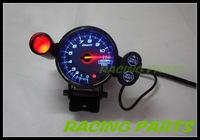 NEW 80mm DE** Stepper Motor BF Style Tachometer/Blue or Red or White Led/ PEAK MEMORY WARNING CAR METER/ AUTO GAUGE