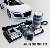 Free shipping HID  MINI FOR ALL 12V 35W Auto MINI All in one HID KIT With Integrative Ballast HID XENON kit HOT SELLING