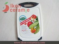Free Shipping! High Quality New 100% IKON Ceramic Polypropylene Chopping block (AJ-CB-GR)