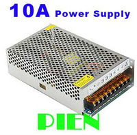Switching Power supply 120W 10A mode adapter Output DC12V to Input AC100-240V for 5050 3528 RGB LED Strip Light Free Shipping