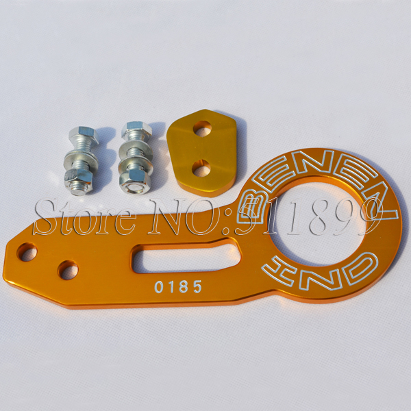 Universal BENEN 0185 Rear Racing Tow Hook Towing Hook Gold Color(China (Mainland))