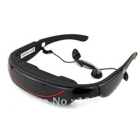 "Portable Eyewear 72"" 16:9 Widescreen Multimedia Player Portable Video Glasses Virtual Theatre 4GB"