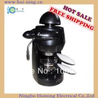 Free shipping Hot Sell 120V/230V  drip Espresso coffee machine with milk foam multi-function coffee machine