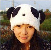 New Cosplay Party Cute Soft Panda Hat Cap Beanie Warm Women/Men Cartoon Animal