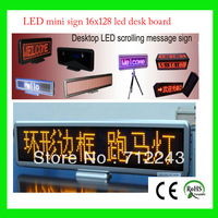 16*128 desktop board,led digit signboard,mini led digital board,rechargable led signs