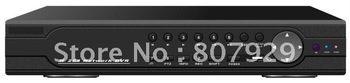 16CH H.264 compression FULL real-tine  D1 standalone DVR and playback,Support RS-485 PTZ control,Embedded Linux