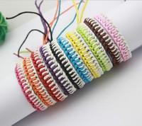 Hippy Handmade Thread hemp Friendship Bracelet  Woven