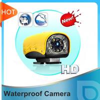 720P waterproof sports HD video camera diving camera underwater mini camera night vision free shipping