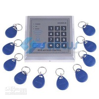 Wholesale - RFID Proximity Entry Door Lock Access Control System AD2000-M  with 10 Key Fobs