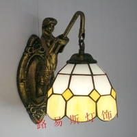 Direct manufacturers of Europe, simple wall lamp Mermaid mirror balcony stairs restroom lighting lamps
