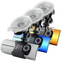 Wholesale factory price x3000 Car DVR Dual Camera with gps logger Car Camera DVRs and 3D G-Sensor New Design High Quality