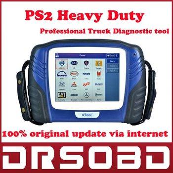 XTOOL Tech 100% Original PS2 Heavy Duty Universal truck professional diagnostic tool update via internet
