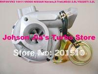 NEW RHF4H/VN3 14411-VK500 Turbocharger for NISSAN Navara 2.5DI,X-Trail,2.2DI,Engine:MD22 2.5L/YD22ETI 2.2L