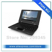 Mini 7 inch WiFi Netbook PC Android 4.0 OS VIA8850 1.2GHz Processor DDR 512MB/4GB NAND flash laptop Webcam UMPC