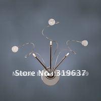Free Shipping K9 Crystal 3 Lights Wall Lamp