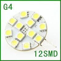 free shipping special offer  10pcs G4 12 SMD LED Marine Camper Bulb Lamp 12V cool White Lights