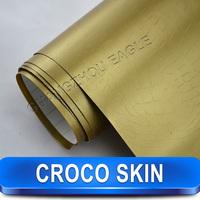 Easy To Apply Crocodile Vinyl Croco Skin Animal Wrap Car Full Body Stickers