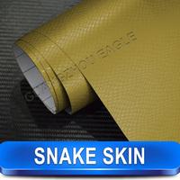 Fresh Wrap Snake Skin Vinyl Wrap Car Texture Vinyl Film