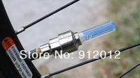 2014 free shipping new 2pcs Cycling LED Light Bike Bicycle Wheel Tire Valve Cap Spoke Neon LED Lights Safety Lamp