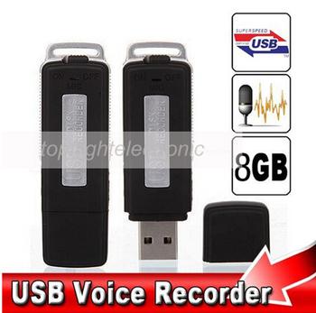 New Mini 8GB USB Drive Digital Audio voice Recorder usb dictaphone